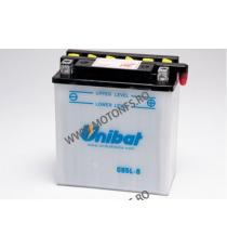UNIBAT - Acumulator cu intretinere CB5L-B-SM (Yuasa: YB5L-B) U295-215-SM UNIBAT Baterii UNIBAT 115,00lei 105,00lei 96,64le...