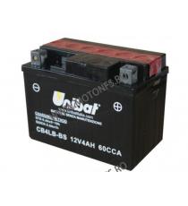 UNIBAT - Acumulator fara intretinere CB4LB-BS (Yuasa: YB4L-B) U295-208-BS UNIBAT Baterii UNIBAT 115,00lei 105,00lei 96,64l...