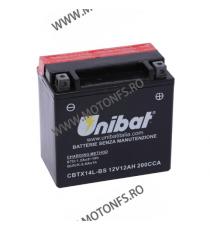 UNIBAT - Acumulator fara intretinere CBTX14L-BS (Yuasa: YTX14L-BS) U295-339-BS UNIBAT Baterii UNIBAT 305,00lei 270,00lei 25...