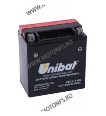 UNIBAT - Acumulator fara intretinere CBTX16-BS (Yuasa: YTX16-BS) U295-348-BS UNIBAT Baterii UNIBAT 370,00lei 335,00lei 310,...