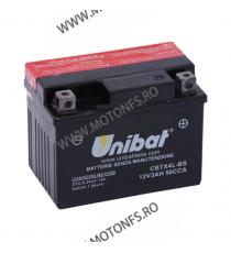 UNIBAT - Acumulator fara intretinere CBTX4L-BS (Yuasa: YTX4L-BS) U295-307-BS UNIBAT Baterii UNIBAT 90,00lei 90,00lei 75,63...