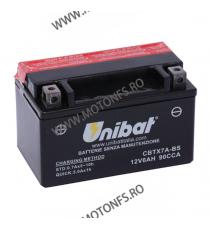 UNIBAT - Acumulator fara intretinere CBTX7A-BS (Yuasa: YTX7A-BS) U295-318-BS UNIBAT Baterii UNIBAT 150,00lei 135,00lei 126,...