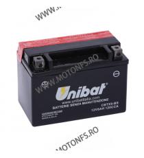 UNIBAT - Acumulator fara intretinere CBTX9-BS (Yuasa: YTX9-BS) U295-330-BS UNIBAT Baterii UNIBAT 185,00lei 170,00lei 155,46...