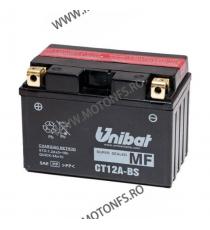 UNIBAT - Acumulator fara intretinere CT12A-BS (Yuasa: YT12A-BS) U295-543-BS UNIBAT Baterii UNIBAT 225,00lei 202,00lei 189,0...