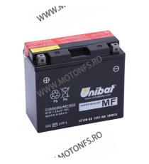 UNIBAT - Acumulator fara intretinere CT12B-BS (Yuasa: YT12B-BS) U295-642-BS UNIBAT Baterii UNIBAT 255,00lei 232,00lei 214,2...