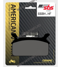 SBS - Placute frana AMERICAN V-TWIN - CERAMIC 668H.HF 570-668-1 SBS SBS 195,00lei 195,00lei 163,87lei 163,87lei