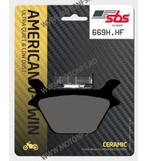 SBS - Placute frana AMERICAN V-TWIN - CERAMIC 669H.HF 570-669-1 SBS SBS 195,00lei 195,00lei 163,87lei 163,87lei