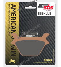 SBS - Placute frana AMERICAN V-TWIN - SINTER 669H.LS 585-669-1 SBS SBS 275,00 lei 248,00 lei 231,09 lei 208,40 lei product_re...
