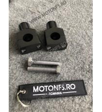 22 mm Inaltatore / Suport Ghidon Handlebar Riser Clamp Compatible With Harley Kawasaki Suzuki Yamaha Honda 030-08-22mmNegru  ...