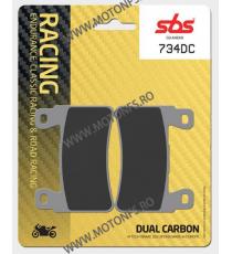 SBS - Placute frana RACING - DUAL CARBON 734DC 560-734-4 SBS SBS 210,00lei 210,00lei 176,47lei 176,47lei