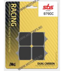 SBS - Placute frana RACING - DUAL CARBON 870DC 560-870-4 SBS SBS 315,00lei 315,00lei 264,71lei 264,71lei