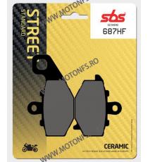 SBS - Placute frana STREET - CERAMIC 687HF 570-687 SBS SBS 118,00lei 118,00lei 99,16lei 99,16lei