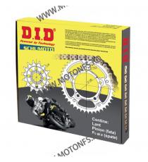 DID - kit lant Ducati Monster 696 2008- GOLD, pinioane 15/45, lant 520VX3-108 Gold X-Ring (cu nit) 125-156-1 DID RACING CHAIN...