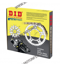 DID - kit lant Aprilia Pegaso Strada 660, pinioane 15/44, lant 520VX3-110 Gold X-Ring (cu nit) 125-431-1 DID RACING CHAIN Kit...