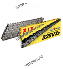 DID - Lant 525VX3 cu 118 zale - X-Ring 1-560-118  Lant 525 418,00lei 418,00lei 351,26lei 351,26lei