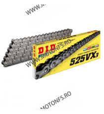 DID - Lant 525VX3 cu 122 zale - X-Ring 1-560-122  Lant 525 432,00lei 432,00lei 363,03lei 363,03lei