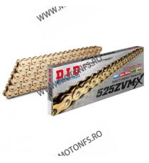 DID - Lant 525ZVM-X cu 120 zale - [Gold] X-Ring 1-559-120  Lant 525 636,00lei 636,00lei 534,45lei 534,45lei