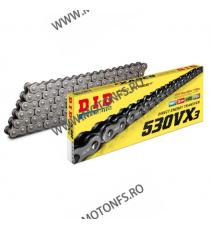 DID - Lant 530VX3 cu 122 zale - X-Ring 1-660-122  Lant 530 471,00lei 471,00lei 395,80lei 395,80lei
