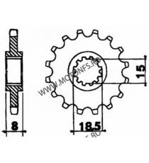 EMGO - Pinion (fata) 599, 13 dinti - Extrema/Cla, Rieju 415 106-115-13 EMGO Emgo Pinioane 34,00lei 34,00lei 28,57lei 28,57...