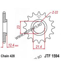 EMGO - Pinion (fata) JTF1594, 15 dinti - YBR250 2007-/YG250Tricker 102-383-15 EMGO Emgo Pinion 64,00lei 64,00lei 53,78lei ...