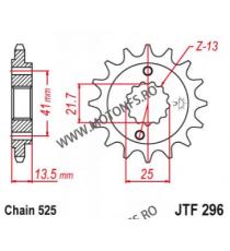 EMGO - Pinion (fata) JTF296, 15 dinti - XL600V/650V700V Transalp 101-563-15 EMGO Emgo Pinion 68,00lei 68,00lei 57,14lei 57...