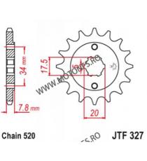 EMGO - Pinion (fata) JTF327, 13 dinti - CA125S Rebel/CRM125 101-436-13 EMGO Emgo Pinion 44,00lei 44,00lei 36,97lei 36,97lei