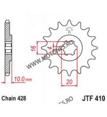 EMGO - Pinion (fata) JTF410, 14 dinti - VL125LC 2000-/XRV125 103-321-14 EMGO Emgo Pinion 49,00lei 49,00lei 41,18lei 41,18lei