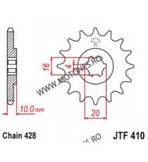 EMGO - Pinion (fata) JTF410, 15 dinti - GZ125 Marauder 103-321-15 EMGO Emgo Pinion 49,00lei 49,00lei 41,18lei 41,18lei