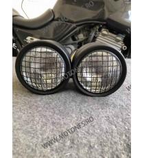 Far dublu Moto cafe racer chopper bobber FVG3D FVG3D  Faruri Universale  290,00lei 290,00lei 243,70lei 243,70lei