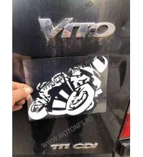 Autocolant / Sticker Moto / Auto Reflectorizante Stikere Carena Moto 7GEAC 7GEAC  Autocolante Carena 10,00lei 10,00lei 8,40...