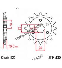EMGO - Pinion (fata) JTF438, 15 dinti - DR750SJ Big/SK, 800 Big 103-423-15 EMGO Emgo Pinion 54,00lei 54,00lei 45,38lei 45,...