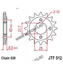 EMGO - Pinion (fata) JTF512, 16 dinti - GPZ500S/KLE500 1991-/EN500C 104-463-16 SPROCKETS Emgo Pinion 49,00lei 49,00lei 41,1...