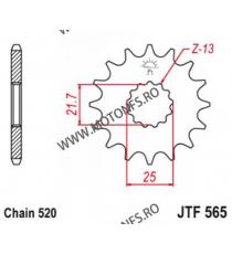 EMGO - Pinion (fata) JTF565, 15 dinti - Versys650/GS500E 2-Zyl/YZ&WR 102-461-15 SPROCKETS Emgo Pinion 44,00lei 44,00lei 36,...