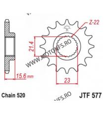 EMGO - Pinion (fata) JTF578, 16 dinti - XTZ750SuperTener 102-462-16 SPROCKETS Emgo Pinion 49,00lei 49,00lei 41,18lei 41,18...
