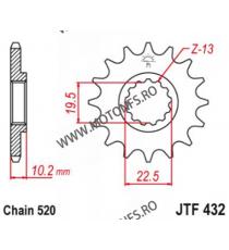 ESJOT - Pinion (fata) 50-32032, 15 dinti - DR350S/DRZ 400 2000-/RM250 -2004 103-461-15 ESJOT PINIOANE Emgo Pinion 49,00lei 4...