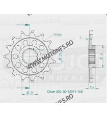 ESJOT - Pinion (fata) 50-32071S, 16 dinti - YZF-R6 Kette 520 Sport 100-462-16 ESJOT PINIOANE Emgo Pinion 64,00lei 64,00lei ...