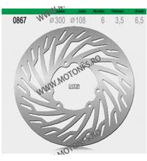 NG - Disc frana (fata) NG867 - SX50 2006- / SENDADRD 2006- 516-0867 NG BRAKE DISC NG Discuri Frana 311,00lei 311,00lei 261,...