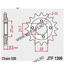 JT - Pinion (fata) JTF1309, 15 dinti - XR600R 1991- Sonderzz. 101-462-15 JT Sprockets JT Sprockets Pinion 64,00lei 64,00lei...