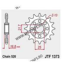 JT - Pinion (fata) JTF1373, 16 dinti - NC700S/NC700X/Integra 2012- 101-468-16 JT Sprockets JT Sprockets Pinion 107,00lei 107...