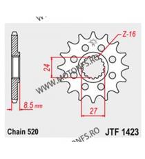 JT - Pinion (fata) JTF1423, 17 dinti - GSX-R1000 2009- Sport 520 100-494-17 JT Sprockets JT Sprockets Pinion 98,00lei 98,00...