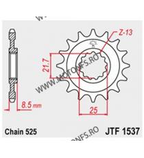 JT - Pinion (fata) JTF1537, 15 dinti - FZR400/Z1000 2007- 102-551-15 JT Sprockets JT Sprockets Pinion 64,00lei 64,00lei 53,...