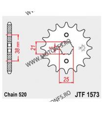 JT - Pinion (fata) JTF1573, 13 dinti - XV125 Virago 102-428-13 JT Sprockets JT Sprockets Pinion 49,00lei 49,00lei 41,18lei...