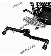 2 Buc Pedal Schimbator Viteze Gear Shift Lever + Shifter Pedal Pegs for Harley Softail Touring Black NNAA9  Pedala Schimbator...