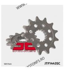 JT - Pinion MX (fata) JTF1443SC, 14 dinti - RMZ450 2013- 100-412-14 JT Sprockets JT Sprockets Pinion 73,00lei 73,00lei 61,3...