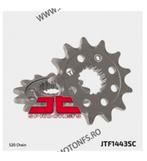 JT - Pinion MX (fata) JTF1445SC, 12 dinti - KX125 1994- 100-407-12 JT Sprockets JT Sprockets Pinion 49,00lei 49,00lei 41,18...