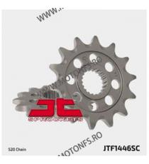 JT - Pinion MX (fata) JTF1446SC, 13 dinti - KX250F 2006- 100-410-13 JT Sprockets JT Sprockets Pinion 68,00lei 68,00lei 57,1...