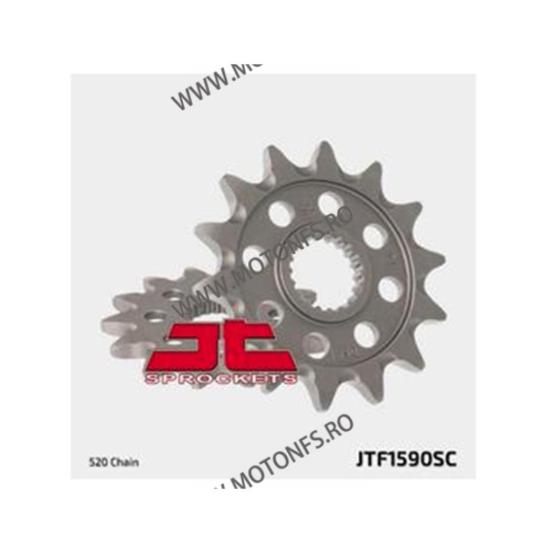 JT - Pinion MX (fata) JTF1590SC, 13 dinti - YZ125 2005-/YZ250F 2001-/WR250 100-403-13 JT Sprockets JT Sprockets Pinion 54,00...