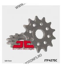 JT - Pinion MX (fata) JTF427SC, 12 dinti - RM125 / RM-Z 250 2007-2009 100-414-12 JT Sprockets JT Sprockets Pinion 68,00lei 6...