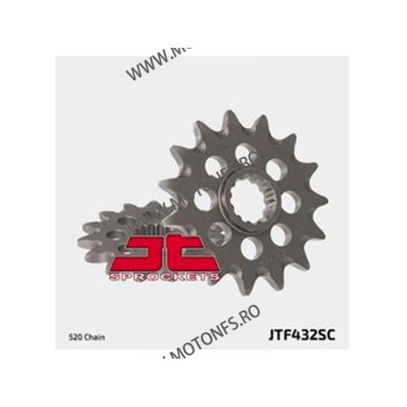 JT - Pinion MX (fata) JTF432SC, 13 dinti - DR350S/RM250 -2004 100-409-13 JT Sprockets JT Sprockets Pinion 68,00lei 68,00lei...