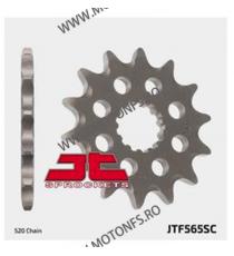 JT - Pinion MX (fata) JTF565SC, 13 dinti - YZ400-450F/WR450/XT500 -1983 100-404-13 JT Sprockets JT Sprockets Pinion 44,00lei...